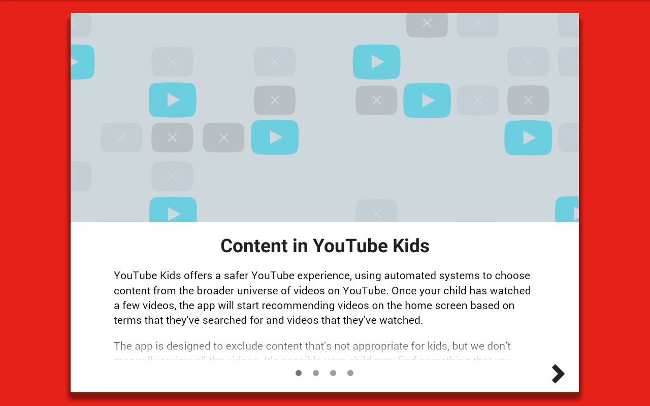 Tutorial of Youtube Kids: Explaining the content