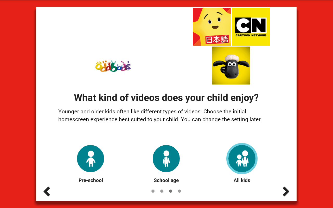 Tutorial of Youtube Kids: Provide the interest in Videos