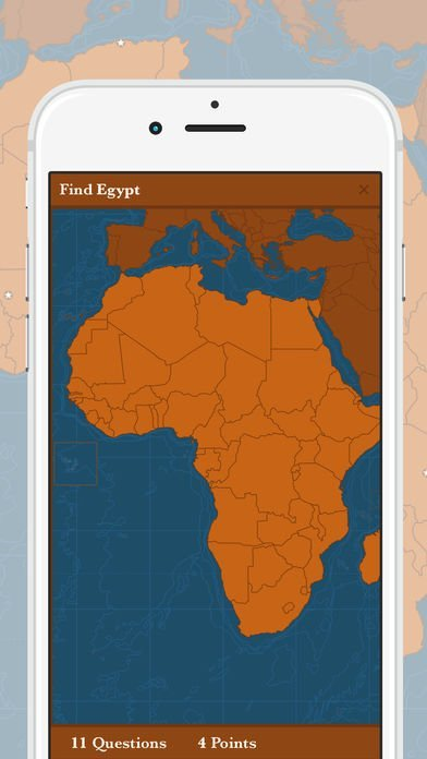 Screen App - Maps of our World (Africa)