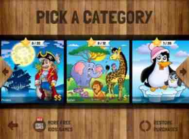 kids puzzles category