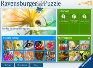 ravensburger start screen